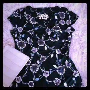 New BCBG Black & Pink Dress